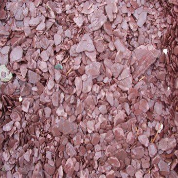 Cubiertas Segovia - Jardinería - Escarcha pizarra: Rojo