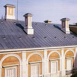 Cubiertas Segovia - Cubiertas - Plomo - Modelo plomo
