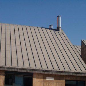 Cubiertas Segovia - Cubiertas - Zinc - Modelo zinc
