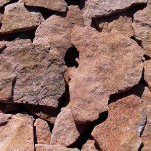 Cubiertas Segovia - Piedras irregulares: Caliza amarilla