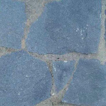 Cubiertas Segovia - Piedras irregulares: Cuarcita gris - azulada