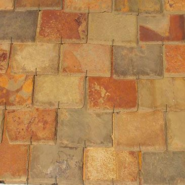 Cubiertas Segovia - Cubiertas - Pizarra: Multi color