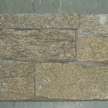 Cubiertas Segovia - Manpostería - Premontado - Enresinado: Granito rubio
