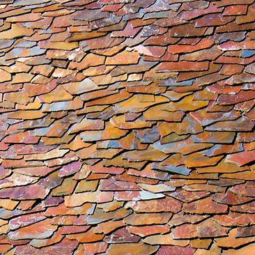 Cubiertas Segovia - Cubiertas - Pizarra: Filita roja granel