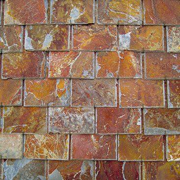Cubiertas Segovia - Cubiertas - Pizarra: Filita roja cortada