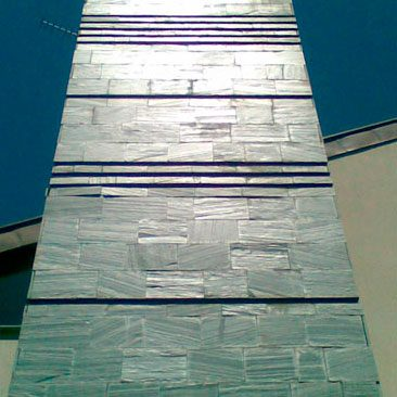 Cubiertas Segovia - Piedras regulares - Filita gris: Natural