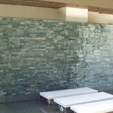 Cubiertas Segovia - Piedras regulares - Caliza blanca hueso: Apomazada