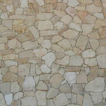 Cubiertas Segovia - Manpostería - Varios modelos: Caliza